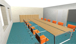 Progetto sala riunione
